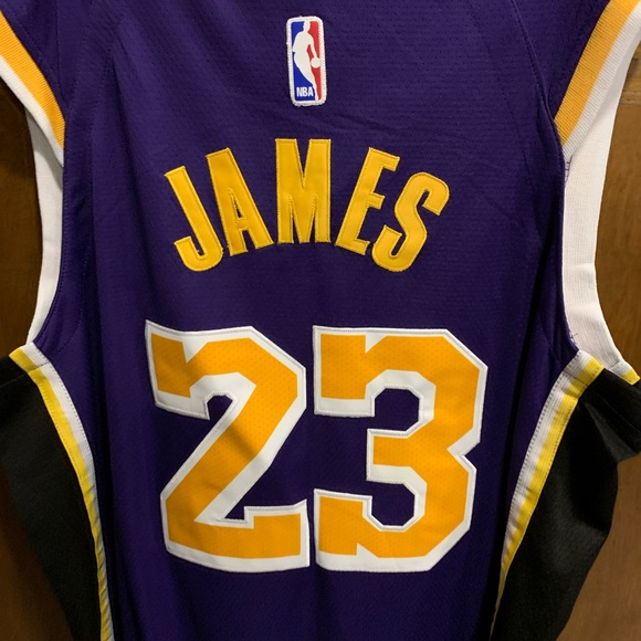 huge discount 7b7bd 60f74 Lakers authentic swingman Jersey NWT